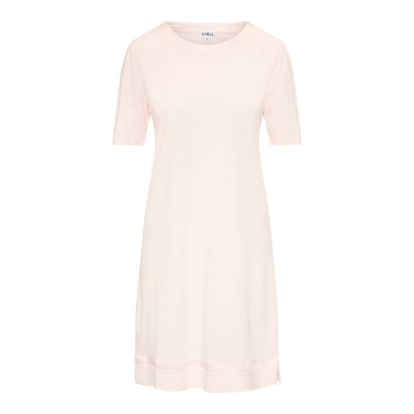 Cyell Nachthemd kort Cyell satin solids rose powder dress roze