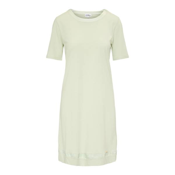 Cyell Nachthemd kort Cyell satin solids laurel dress groen