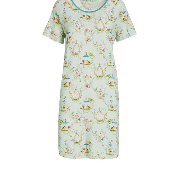 PIP Studio Nachthemd kort PIP Studio dees night dress singerie light groen