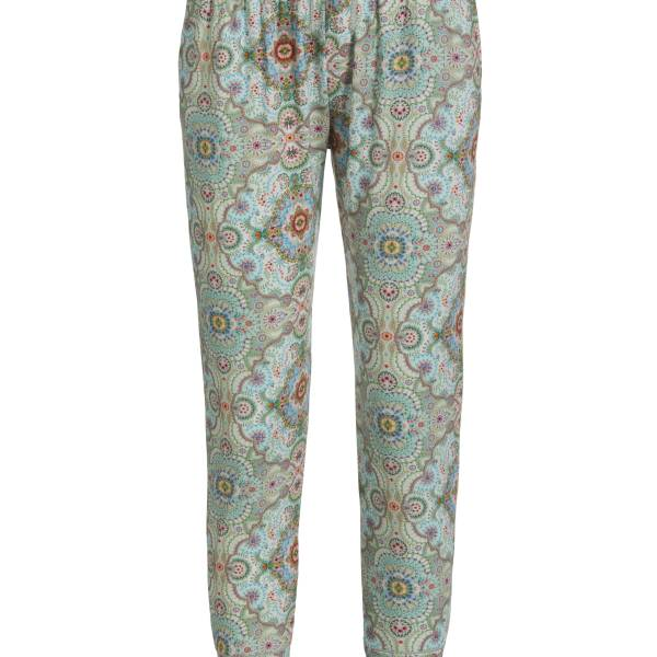 PIP Studio Dames nachtmode overig PIP Studio bobien moon delight trousers long blauw