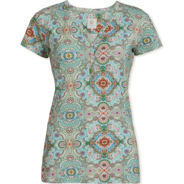 PIP Studio Dames nachtmode overig PIP Studio moon delight green top groen