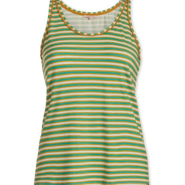 PIP Studio Dames nachtmode overig PIP Studio sleepy stripes green top groen