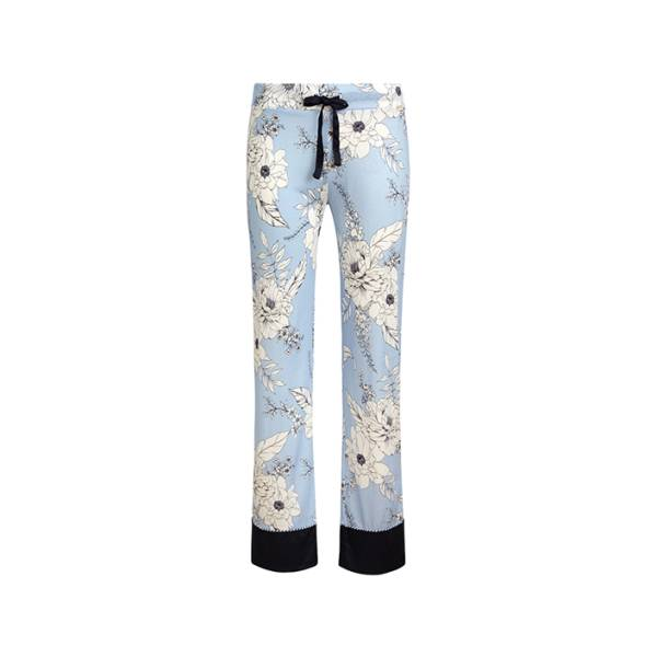 Cyell Dames nachtmode overig Cyell japanese rose trousers long blauw