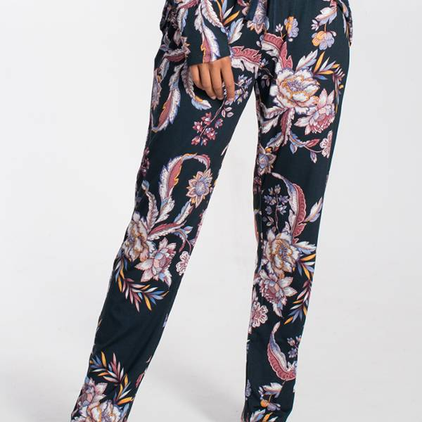 Cyell Dames nachtmode overig Cyell pagoda trousers long blauw