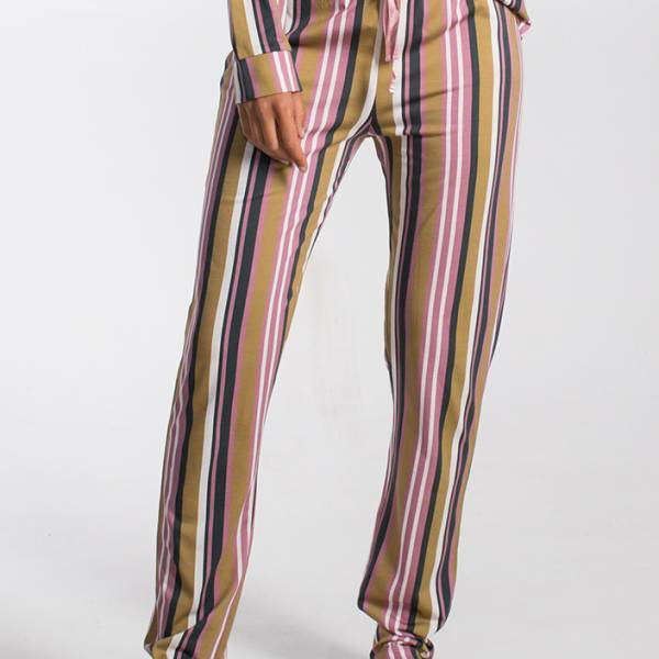 Cyell Dames nachtmode overig Cyell samurai trousers long multicolor