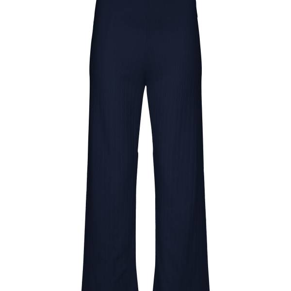 Essenza Dames nachtmode overig Essenza nina uni trousers long blauw