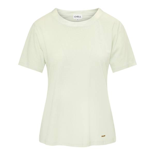 Cyell Dames nachtmode overig Cyell satin solids laurel shirt groen