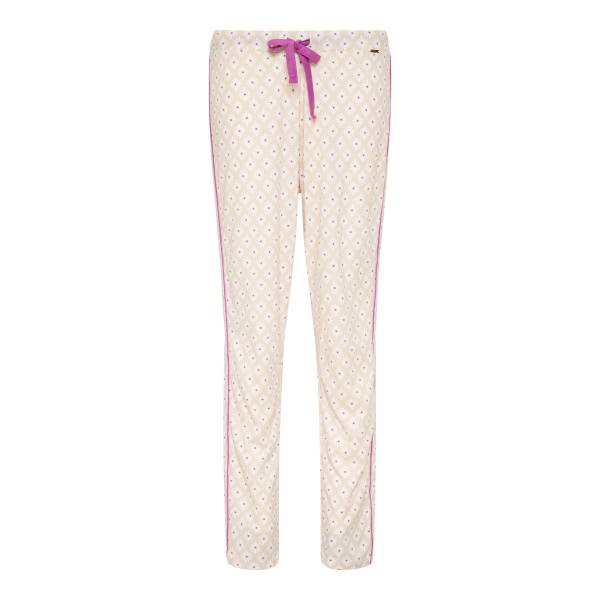 Cyell Dames nachtmode overig Cyell mosaic flower trousers long paars