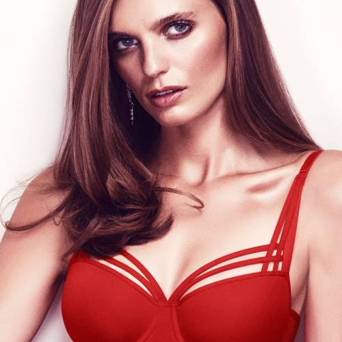 Marlies Dekkers dame de paris red balcony rood