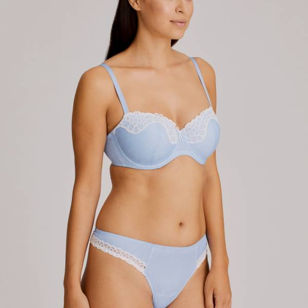 Twist by Prima Donna Balconnet BH Twist by Prima Donna primadonna twist celebrity balconnet blauw