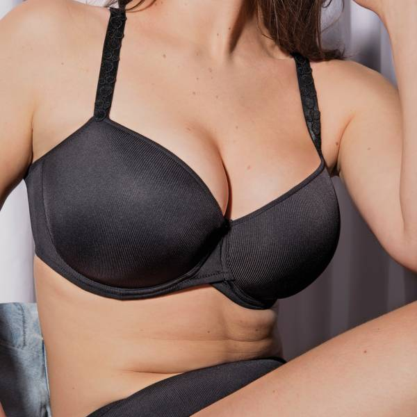 Twist by Prima Donna Balconnet BH Twist by Prima Donna star padded bra - balcony zwart