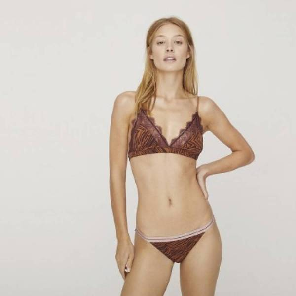 Love Stories BH zonder beugel Love Stories love lace bralette paars