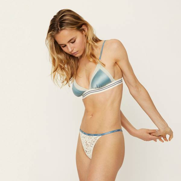 Love Stories BH zonder beugel Love Stories jane m bralette blauw