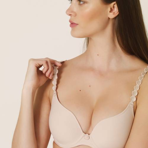 L'Aventure by Marie Jo tom padded bra - heart shape huid
