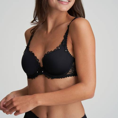 Marie Jo padded bra - heart shape jane zwart