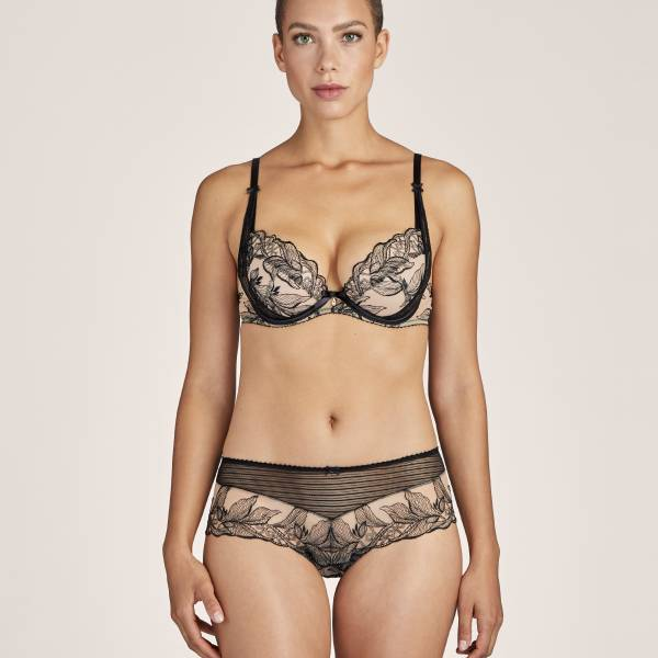 Aubade Push Up BH Aubade tb fleur de tattoo push-up bh zwart