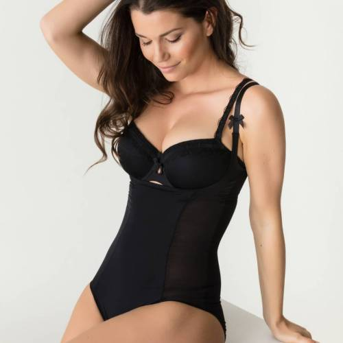 Twist by Prima Donna shapewear body a la folie zwart