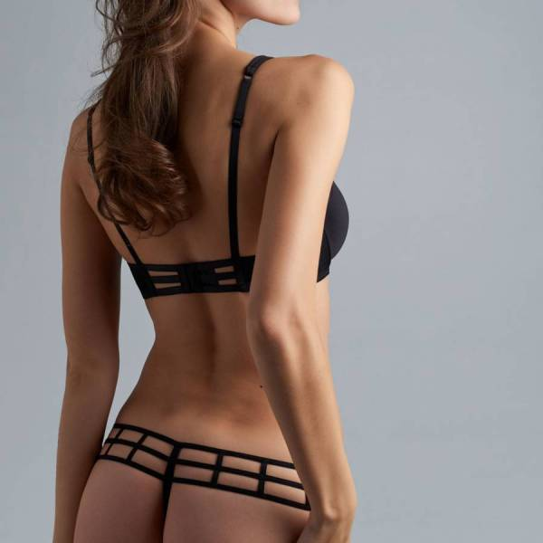 Marlies Dekkers String Marlies Dekkers leading strings thong black zwart