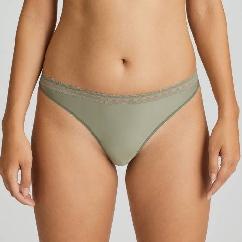 Twist by Prima Donna happiness thong groen