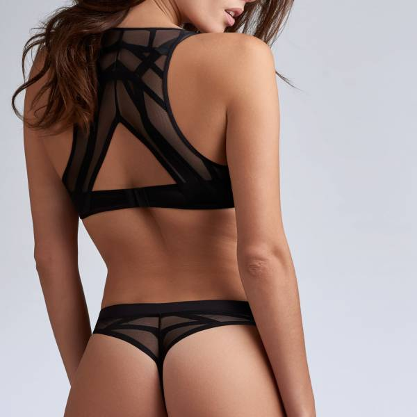 Marlies Dekkers String Marlies Dekkers the illusionist thong zwart