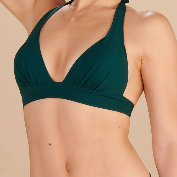 Pain de Sucre Bikini Top Pain de Sucre uni  push up top groen