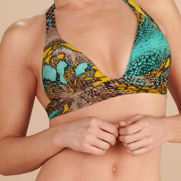 Pain de Sucre Bikini Top Pain de Sucre phyton push up top diverse