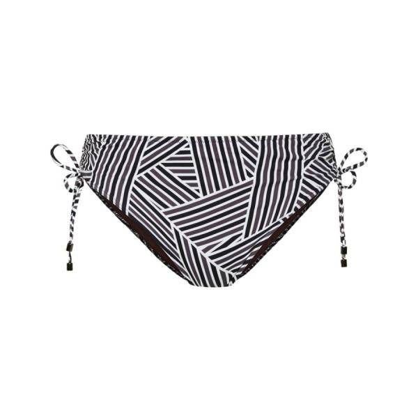 Cyell Slips bad Cyell pant high - art deco zwart
