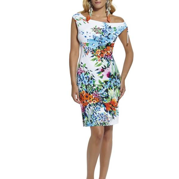 Roidal Dress Roidal dress wit combinatie
